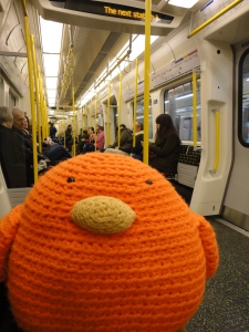 Bert on the tube
