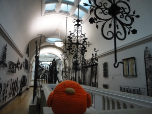 Halls filled with ironwork