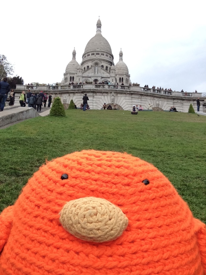 Bert at Montmartre