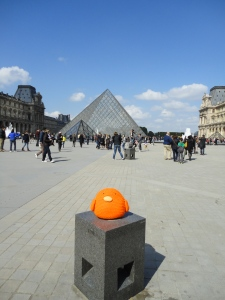 Bert loves the Louvre!