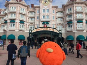 Bert at Disneyland Paris!