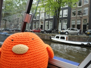 Bert cruising the Canals!