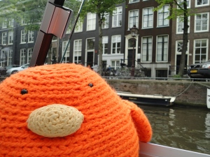 Bert loves Canal Cruises!