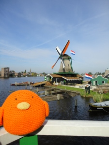 Bert in the Amsterdam countryside