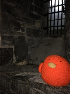 Perching in the crypt