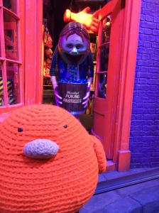 Bert on Diagon Alley