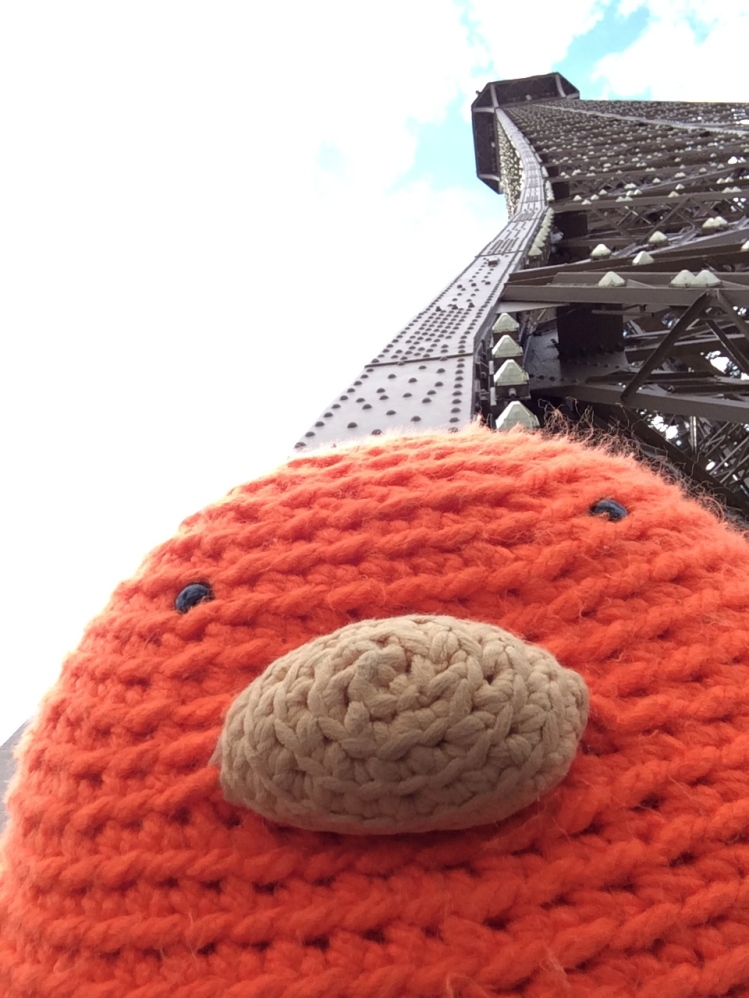 Bert loved the Eiffel Tower!