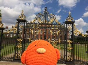 Bert loved Kensington Palace!