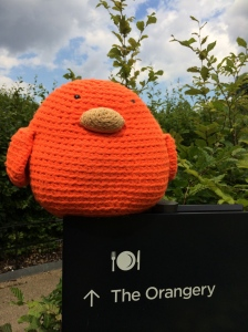 Bert's heading to the Orangery for Afternoon Tea!