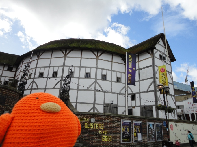 Bert at the Shakespeare Globe Theatre!!