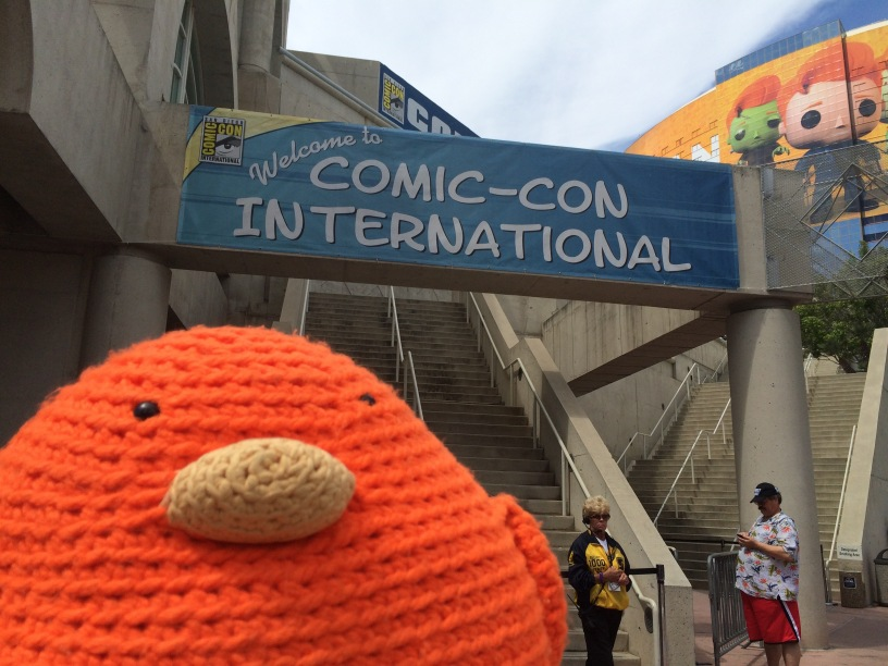 Bert at San Diego Comic Con 2015!!