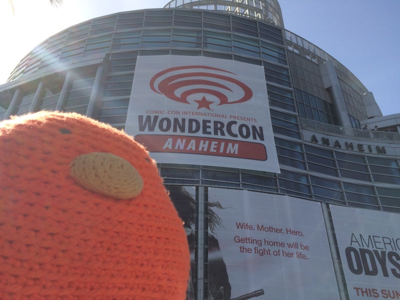 Bert at WonderCon - 2015!