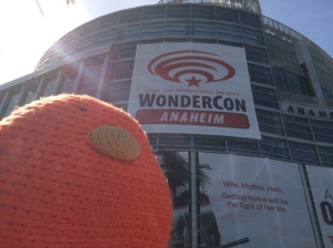 Bert loved WonderCon!